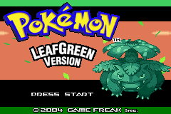 Pokemon Sea Green Advance Image