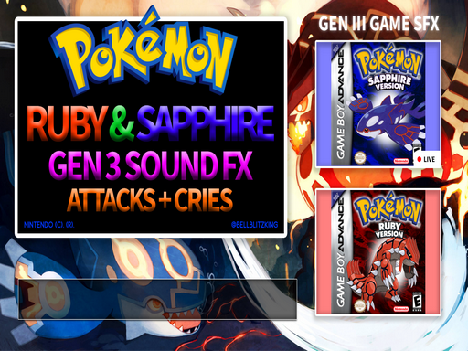 Pokemon Attack SFX Pack Gens 1 to 5 Updated Image