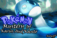 Pokemon Mystery Of Karus And Kanto Image