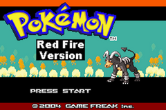 Pokemon Red Fire Image